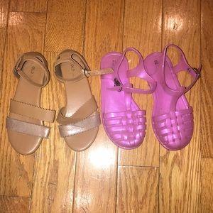 Girls Old Navy Bundle of Sandals